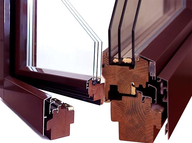 Деревоалюминиевые евроокна для вашего дома