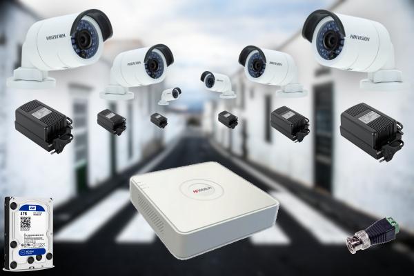 Качественные комплекты видеонаблюдения по оптимальной цене