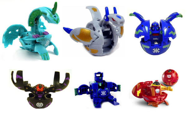 Большой ассортимент игрушек бакуган