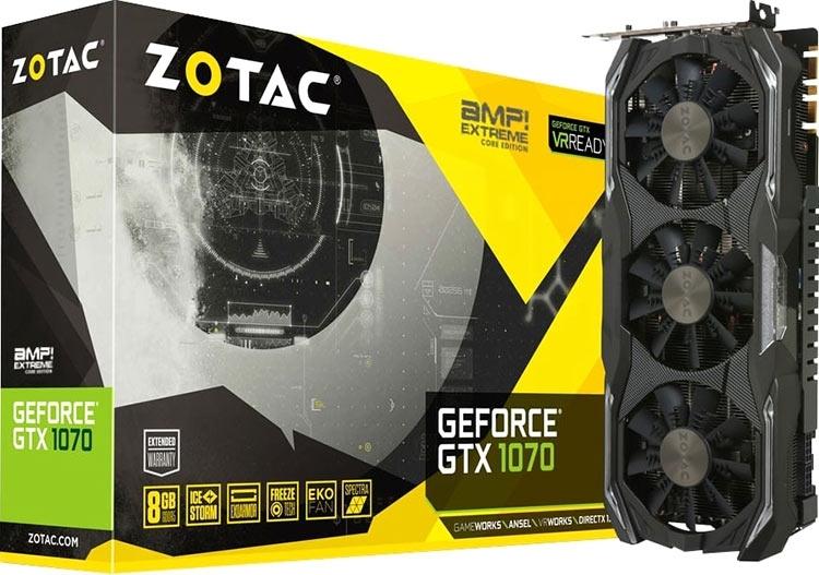 Zotac назвала ошибкой информацию о GeForce GTX 1070 с памятью GDDR5X
