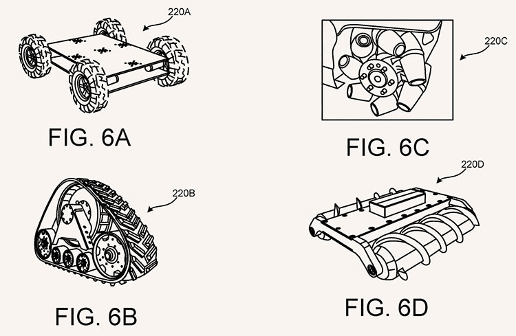 Google запатентовала VR-обувь на колёсах
