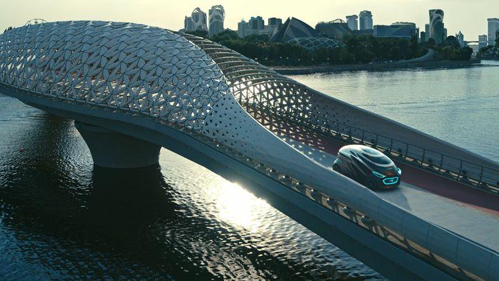 Mercedes-Benz показал электрический беспилотник будущего