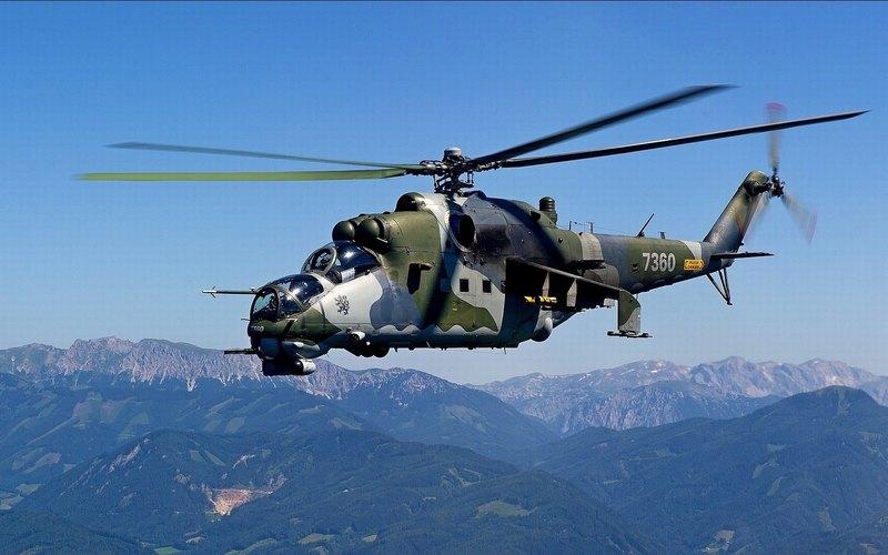 Рожденные воевать: лучшие ударные вертолеты мира