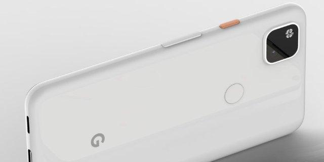 Google Pixel 4a - первые рендеры