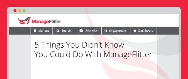Зачем нужен сервис ManageFlitter?