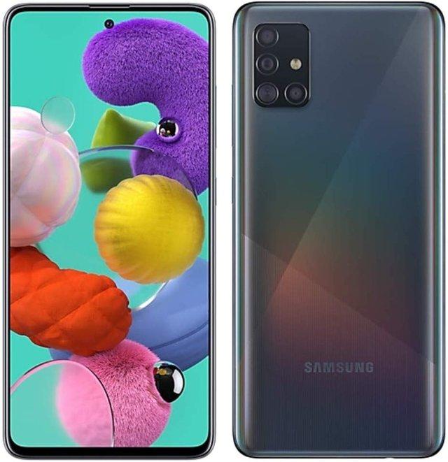 Galaxy A51 задает новый стиль