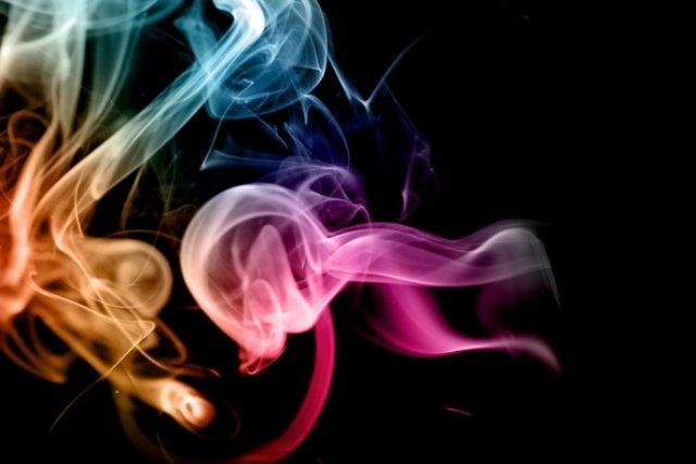 Как сделать красивый дым в фотошопе