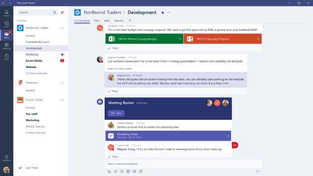 Microsoft Teams теперь предлагает возможность видеосвязи между 20 000 человек