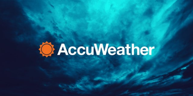 AccuWeather будет показывать поминутный прогноз осадков