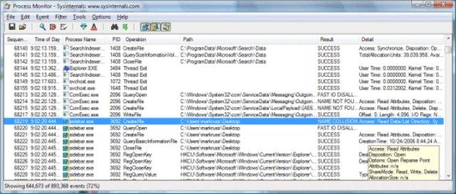 ProcMon - это монитор ресурсов Linux от Microsoft