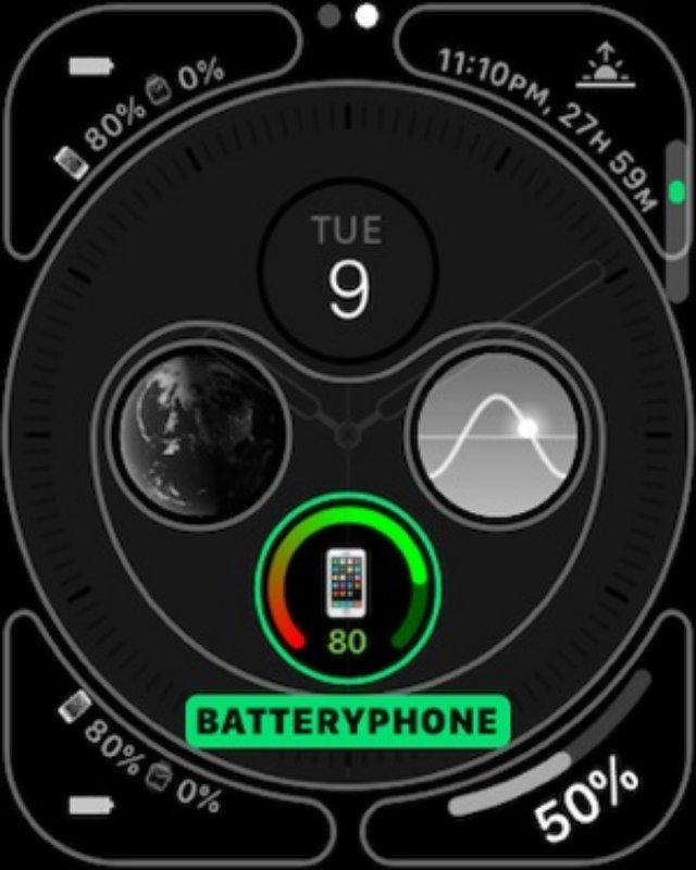 BatteryPhone - приложение для проверки заряда батареи