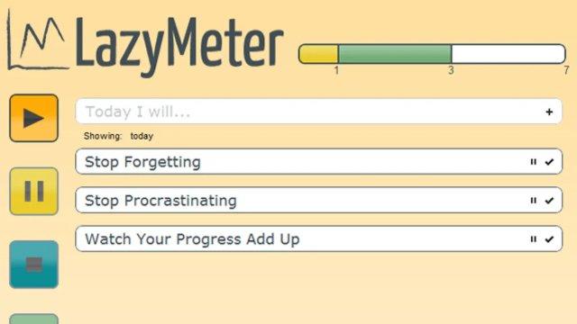 Приложение LazyMeter для планирования дел