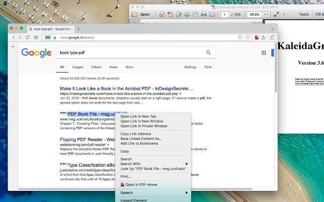 Google разрабатывает новый PDF-ридер для браузера Chrome