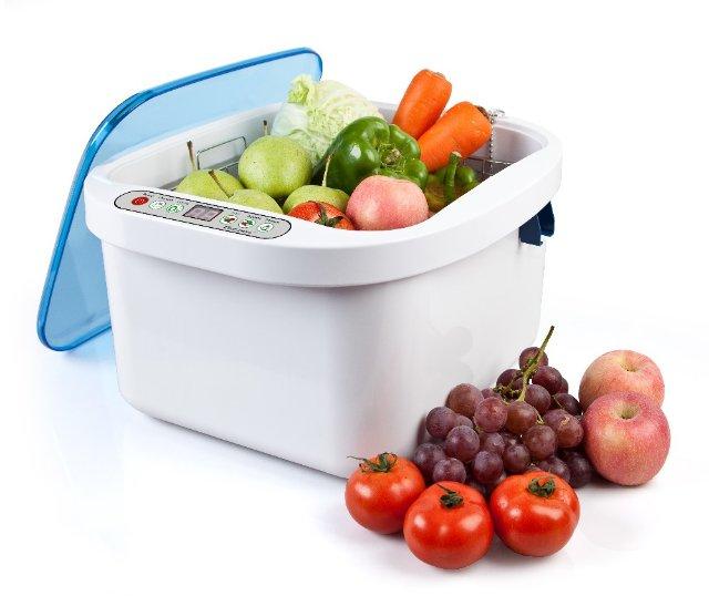 Современная ультразвуковая мойка для фруктов