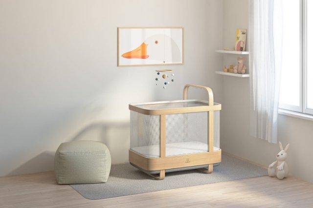 Умная колыбель облегчит засыпание ребенка
