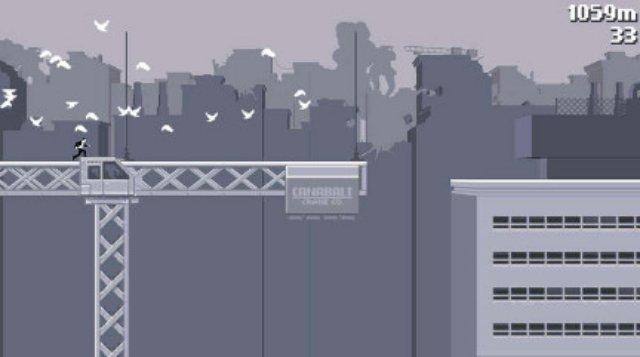 Обзор игры Canabalt Portable