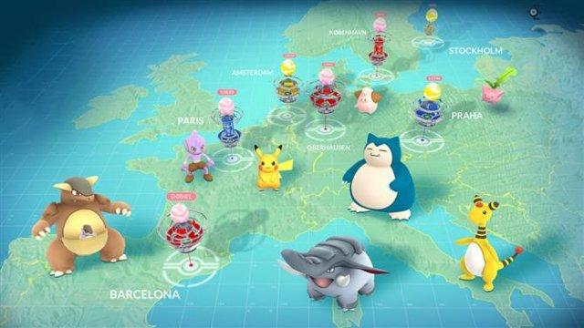 Как собрать всех покемонов в Pokemon GO