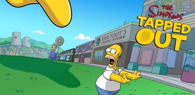 Обзор игры Симпсоны