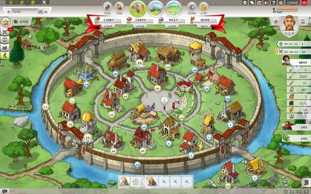 Обзор онлайн стратегии Травиан