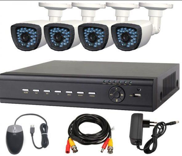 AHD камеры для уличного видеонаблюдения