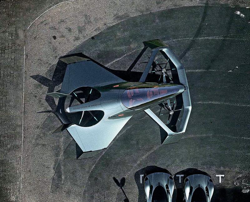 Кит отчаянья, мини-мотоцикл и персональный летательный аппарат
