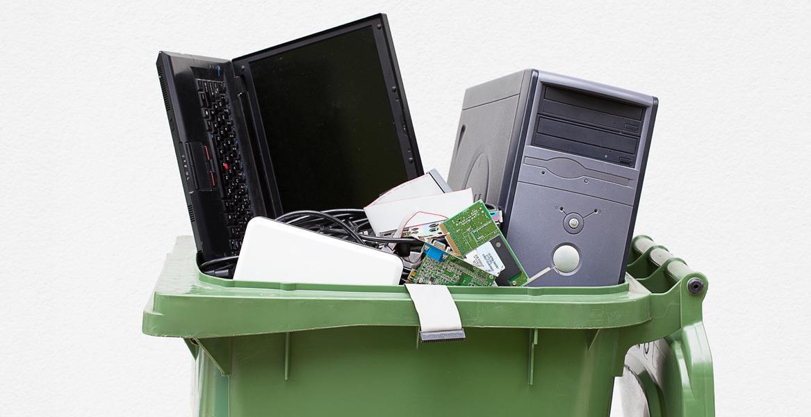 Утилизация компьютеров и другого оборудования