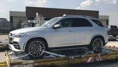 Фотошпионы показали Mercedes-Benz GLE без камуфляжа