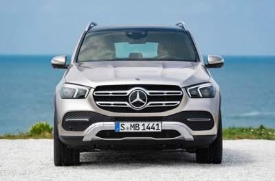 Mercedes-Benz показал обновленный кроссовер GLE