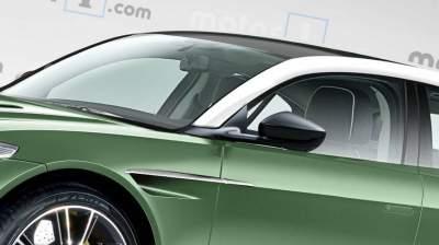 В Сети появились рендеры возможного внешнего вида нового Aston Martin
