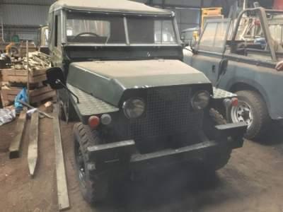 В Шотландии найдены раритетные модели Land Rover