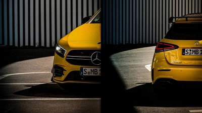 Mercedes-Benz показал допремьерное фото AMG A35