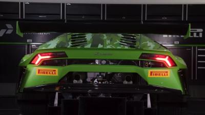 Lamborghini представила гоночный Huracan GT3 Evo