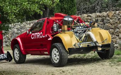 Гоночный Citroen для «Париж-Дакара» выставили на продажу