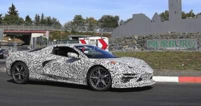 Фотошпионы засняли новый Chevrolet на испытательной трассе