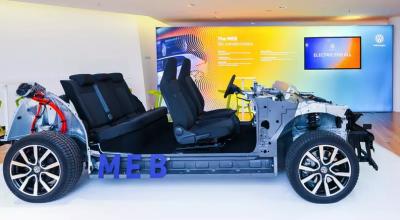 Volkswagen показал модульную платформу для электромобилей