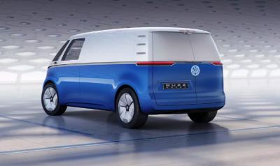 В семействе электрокаров Volkswagen ID появился грузовой фургон