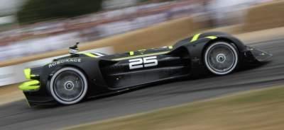 В Британии представили беспилотный гоночный автомобиль