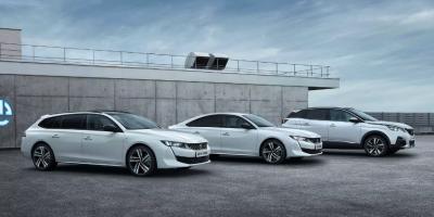 Peugeot 508 и 3008 стали подзаряжаемыми гибридами