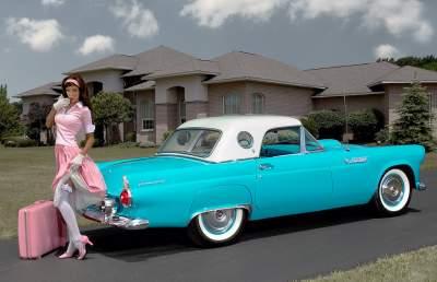 Названы лучшие женские ретро-автомобили