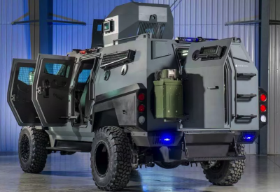 В Канаде построили броневик для апокалипсиса