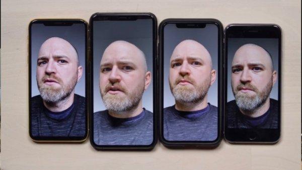 Камера iPhone XS Max делает владельца лучше, чем он есть