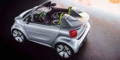 Рассекречен новый электрокар Smart Forease