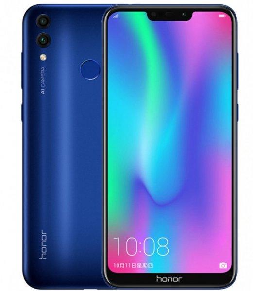Huawei представила недорогой смартфон Honor 8C с двойной камерой