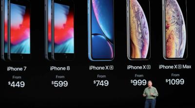 Стало известно, на сколько больше украинцы заплатят за iPhone XS, чем американцы