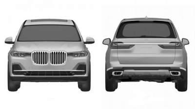 Рассекречен дизайн нового кроссовера BMW X7