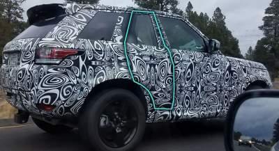 Land Rover вывела необычную модель на дорожные тесты