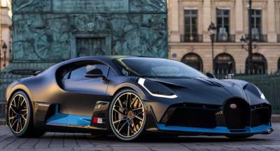 Bugatti привезет в Женеву экстремальный Chiron