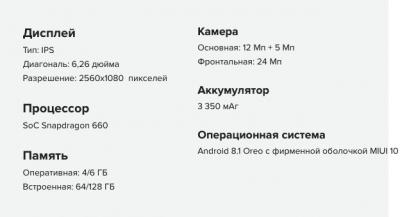 В Украине представили смартфон Xiaomi
