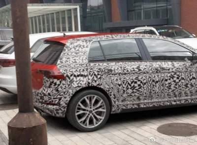 Volkswagen Golf 2020 впервые показали на фото