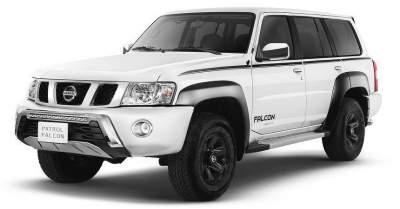 Nissan представила три новые версии внедорожника Patrol